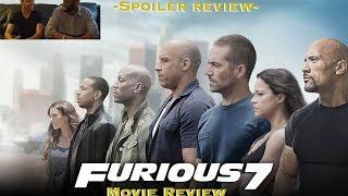 Furious 7 (2015) - SPOILER REVIEW