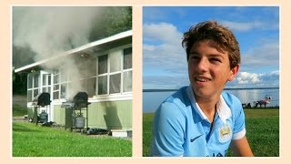 HE ALMOST LIT THE HOUSE ON FIRE | ALEX & MICHAEL