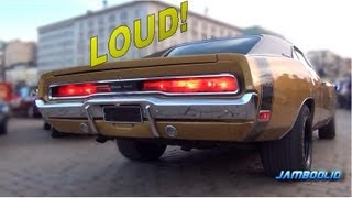AMERICAN MUSCLE!! 1970 Dodge Charger 500 - brutal V8 and exhaust sound!