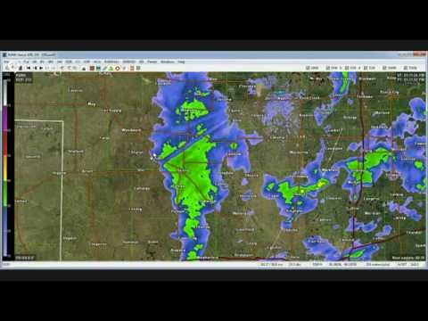 LIVE RADAR of NW Oklahoma test run