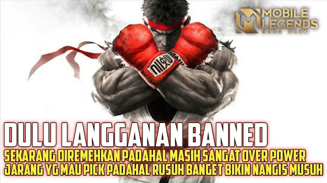 Fighter Etdhan Ini Sudah Bebas Dari Namanya Banned - Mobile Legends