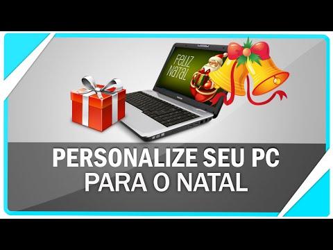 Como personalizar seu PC para o natal