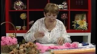 Уроки рукоделия  Пионовидная роза из бумаги