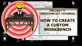 How to Create Custom Workbench Creation Kit Tutorial Fallout 4