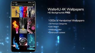 Walls4U - HD Wallpapers & 4K Backgrounds Free screenshot 1