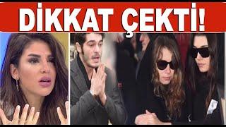 Hande Erçel'in en acı günü! Cenazeye katılan Burak Deniz'in hali olay oldu!