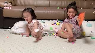 아이들과 함께하는 놀이?! 놀이라쓰고 대환장파티라 부릅…