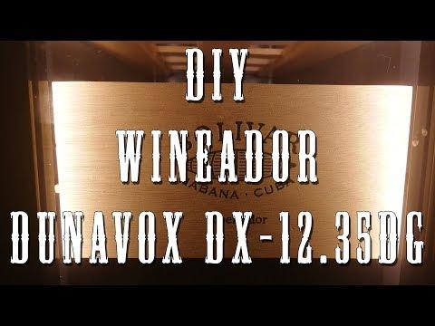 DIY Wineador - Cigar Humidor - DUNAVOX DX-12.35DG