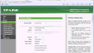 Repeat youtube video การตั้งค่าการใช้งาน TP-LINK รุ่น TL-WA901ND AP mode