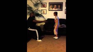 8 year old Daughter and dad stay arguing