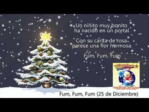 """Fum, Fum, Fum """"25 de Diciembre"""" (con Letra)"""