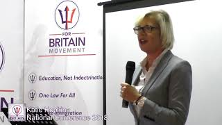 Katie Hopkins at the For Britain National Conference 2018