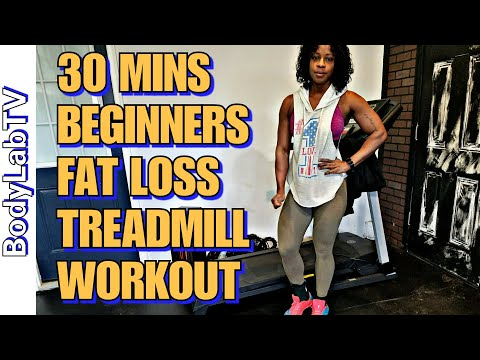 30 Mins Treadmill Fat Loss Workout | Beginners Friendly