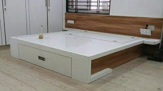 #khandelwalfurnitureworks Wooden bed ideas with storage | Modern bed designs |Bed ideas with storage