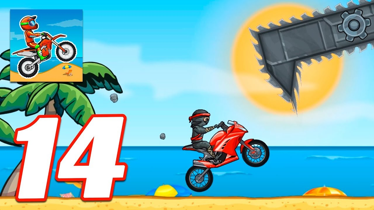 Moto X3m Bike Race Game New Update Gameplay Android