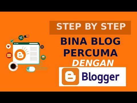 Step By Step Cara Bina Blog Percuma Dengan Blogspot Setting Cara Tepat Youtube