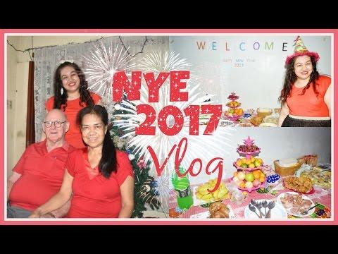 NYE At Home in Manila 2017 Vlog | fashionxfairytale