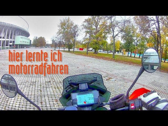 Moto Vlog durch den Wiener Prater mit Traktionskontrolle