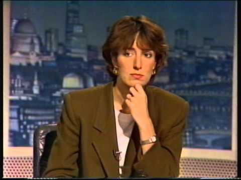 Newsnight 1992 report on Maastrict rebellion against John Major