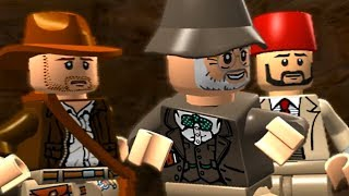 LEGO Indiana Jones - TEMPLE OF THE GRAIL Story Mode Walkthrough Gameplay
