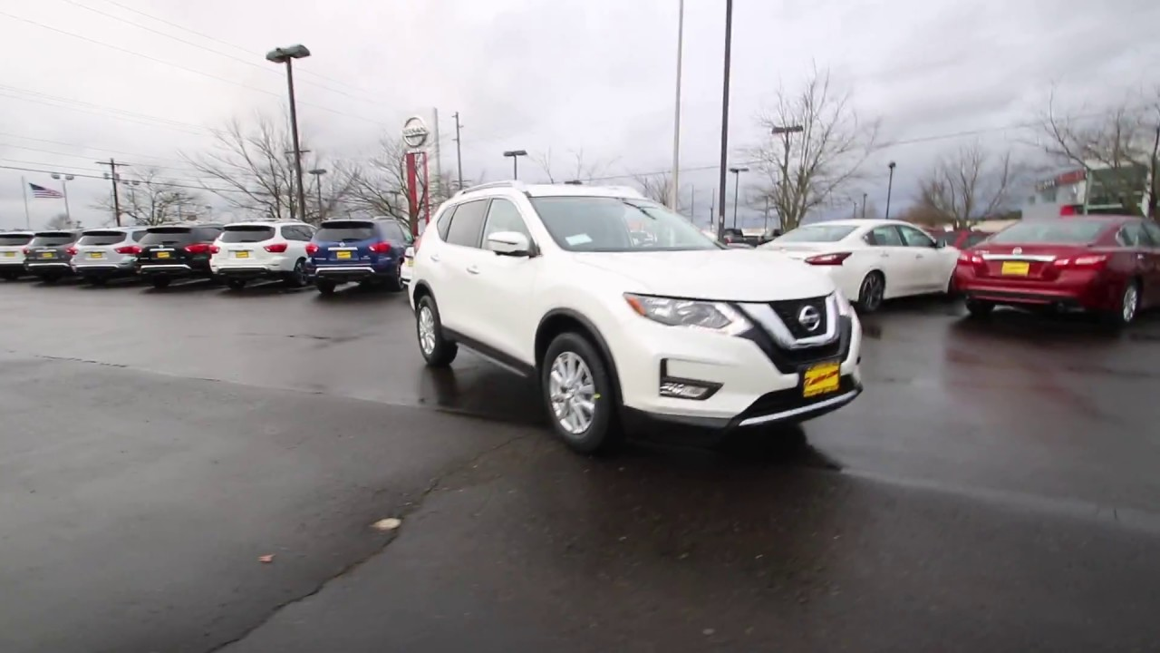 2017 Nissan Rogue Sv Pearl White Hp535629 Kent Tacoma