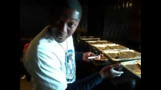 @979beat WildKard Lop Lifeofthaparty - sneaking some of @DeShonsCatering at Zouk!