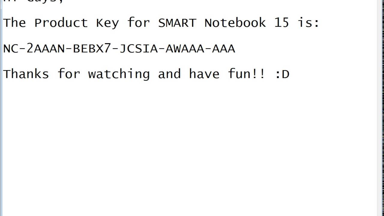 SMART Notebook 16 and 15 Product Key [Updated]