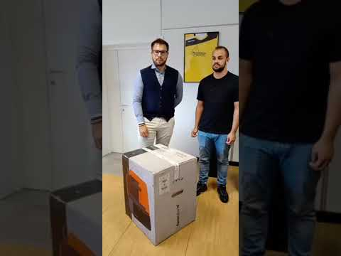 Unboxing Formlabs Form 3 - Primi passi