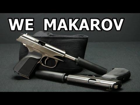 WE MK-PM51 Makarov Airsoft GBB Review german / deutsch