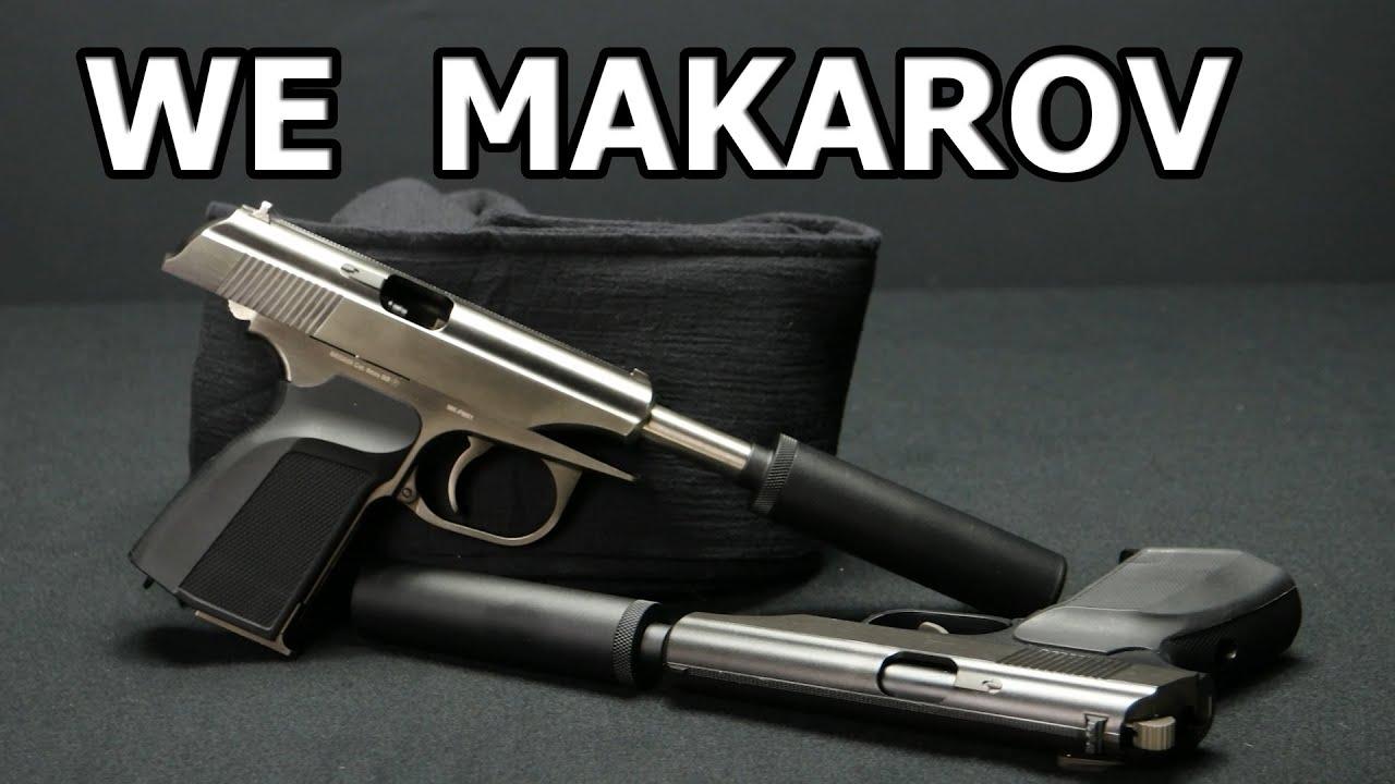 WE MK-PM51 Makarov Airsoft GBB Review german / deutsch ...