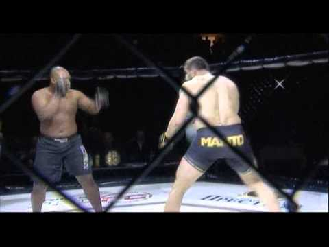 PROFC 46: ( +93 кг) Pierre Louis Digonal  Vs. Дмитрий Смоляков .flv