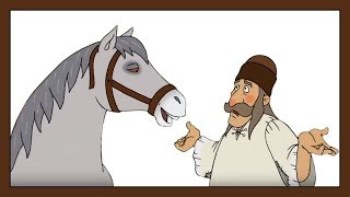 The Poor Man and His Horse | Hindi Kahaniya for Kids | Stories for Kids | Hindi Animated Stories