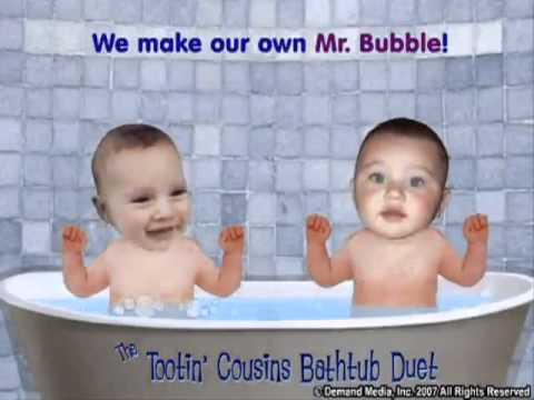 tootin 39 bathtub baby cousins official youtube youtube. Black Bedroom Furniture Sets. Home Design Ideas