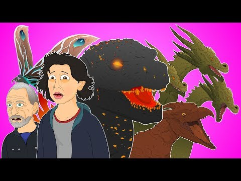♪ GODZILLA KING OF THE MONSTERS THE MUSICAL - Animated Parody Song