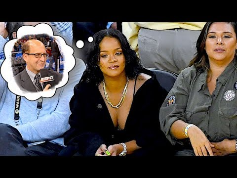 When Jeff Van Gundy Met Rihanna: Love at First Sight 6/02/17