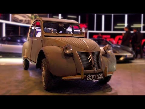 Chris Harris Citroen 2CV Walkaround | Top Gear: Series 25