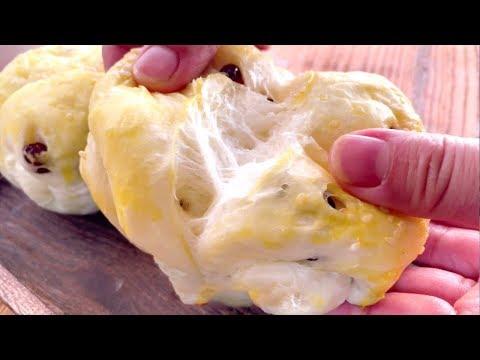 蒸麵包不拉絲像饅頭?教你正確配方和手法,暄軟拉絲,比烤的香【廚娘小寧】