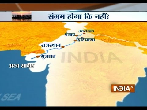Uma Bharti Ardent To Prove The Existence Of River Saraswati - India TV