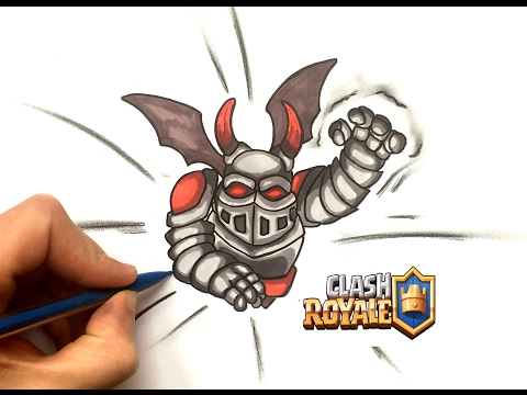 how to draw clash royale barbarian