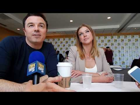 Seth MacFarlane Creator, Adrianne Palicki Kelly Grayson discuss The Orville at SDCC '17