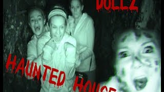 Dollz Haunted House!  Scared Reactions - Episode 9 - On The Edge