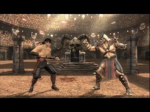 Mortal Kombat (2011) - Liu Kang vs. Shao Kahn | PS3 Gameplay