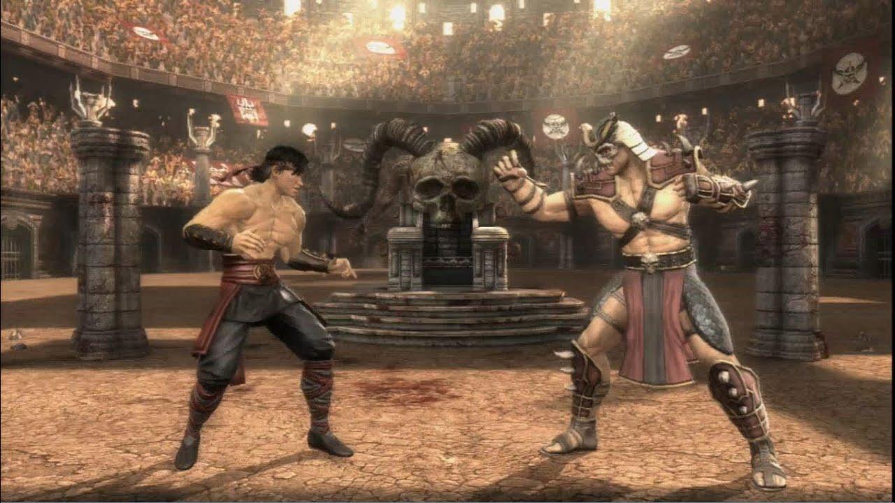 www.shao.com_Mortal Kombat (2011) - Liu Kang vs. Shao Kahn | PS3 Gameplay - YouTube