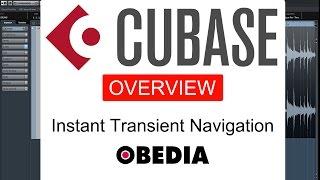 Instant transient navigation in Cubase Pro 8