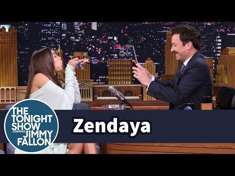 Zendaya and Jimmy Get Creative with Instagram Boomerangs