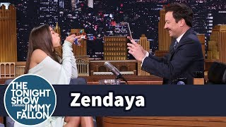 Zendaya and Jimmy Get Creative with Instagram Boomerangs