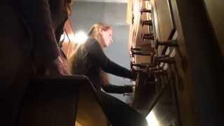 J. S. Bach - Passacaglia and Fugue in C minor, BWV 582 - Maria Vekilova