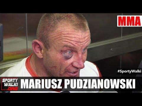 Mariusz Pudzianowski po KSW 40: Trzecią rundę dojechałem na charakterze