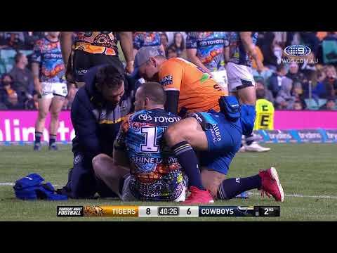 NRL Highlights: Wests Tigers v North Queensland Cowboys - Round 10