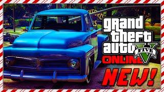 "GTA 5 NEW ""Vapid Slamvan"" Christmas DLC Car! GTA 5 Vapid Slamvan Festive Surprise Vehicle! (GTA V)"